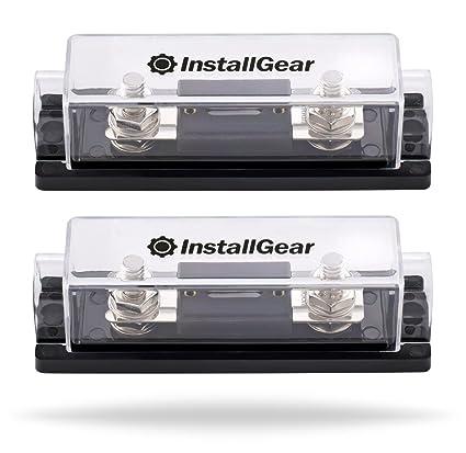 amazon com installgear 0 2 4 gauge ga anl fuse holder 250 amp anl rh amazon com Fuse Box vs Breaker Box Fuse Box vs Breaker Box