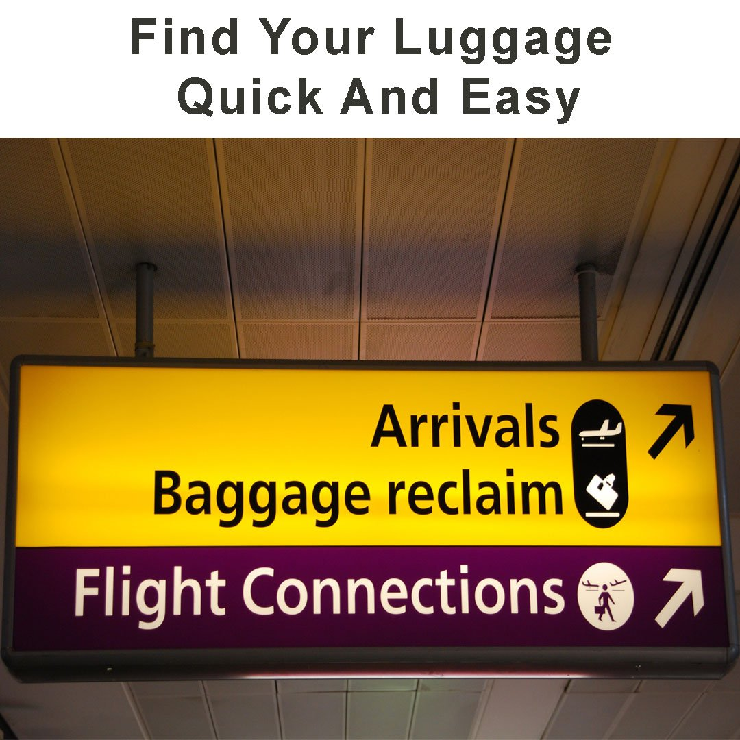widerstandsf/ähiges Nylon komfortabler Reisetasche f/ür Autositze beim Einchecken perfekt am Flughafen ultrafestes Gelb gepolsterter Schultergurt und Tragegriff