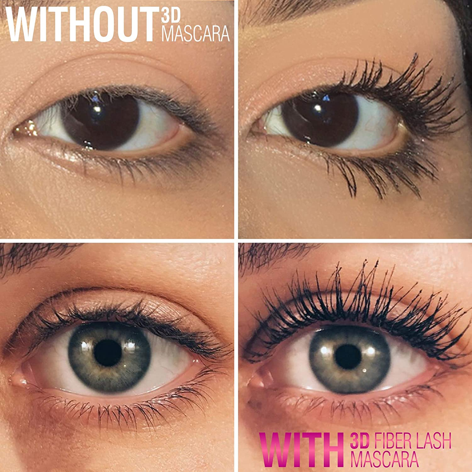 0aa7aaee2ee Amazon.com : 400X Silk Fiber Lash Mascara by Mia Adora - Best Way to Add  Volume & Length to Your Natural Eyelashes Instantly - Waterproof  Smudge-proof ...