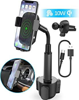 Squish 2-in-1 Universal Cell Phone Holder & Wireless Car Charger