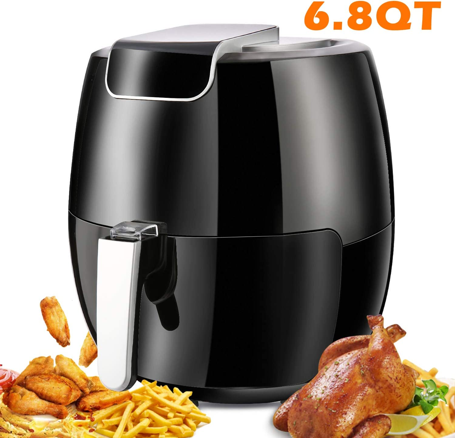 yesparn Oven999 Air Fryers Oven, 15.3 x 14.2 x 15.3 inches, black