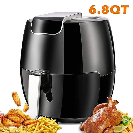 Amazon.com: Yesparn Air Fryer XL 6,8 QT, 1800 W de cocción ...