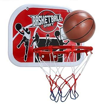 pellor canasta aro de baloncesto tablero de pared colgando juego interior y exterior para nios