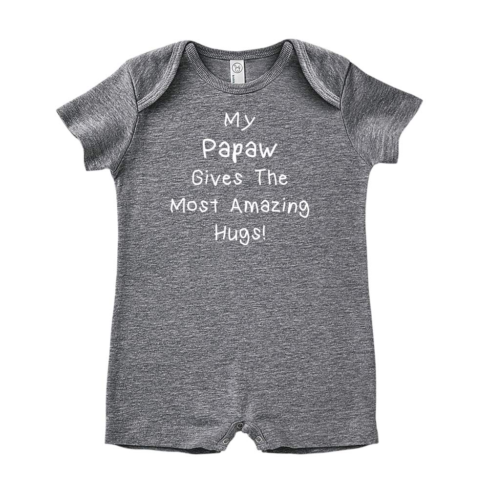 Baby Romper Mashed Clothing My Papaw Gives The Most Amazing Hugs