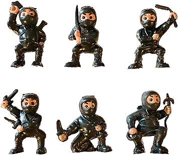 Amazon.com: fb 18 Black Mini Karate Ninjas Warriors Fighters ...