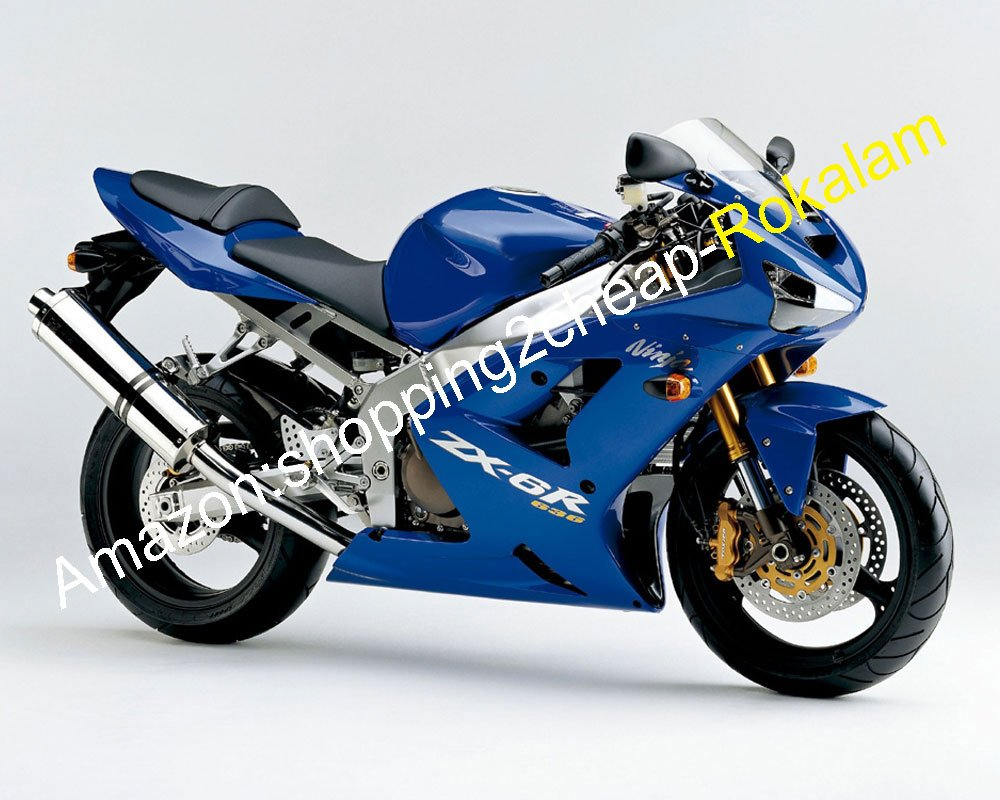 Hot Sales,Fashion Blue ZX6R Kit de carenado para Kawasaki ...