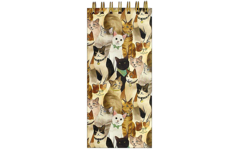 Cat Lover 's Molly & Rex Top Boundスパイラルリストパッドメモ帳   B079SZ922Y