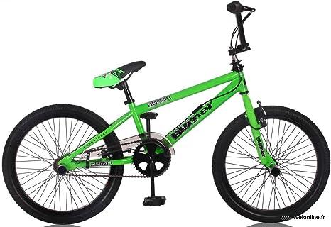 BURNER-BICICLETA BMX FREESTYLE VERDE DE 20
