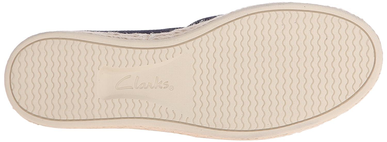 CLARKS Women's Azella Revere Flat Shoe B012OT511W 6.5 W US|Navy Suede