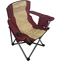 OVERSIZED FOLDABLE CAMPING CHAIR WITH CARRY BAG