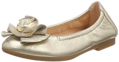 Unisa Mädchen CROSI_MTS_LMT Geschlossene Ballerinas, Gold (Platino), 27 EU