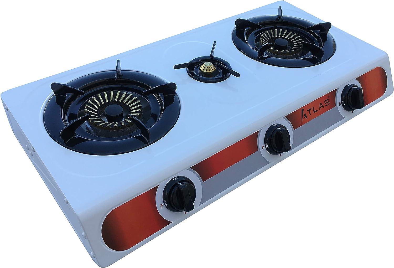 Tecatel – Cocina de gas uso exterior serie ATLAS GE03 BLANCA ...