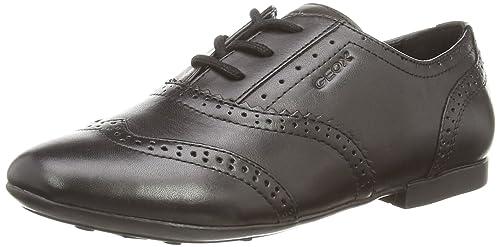 Cuero A Cordones es Zapatos Amazon J Plie' Para Niña De Geox YqBFPPw