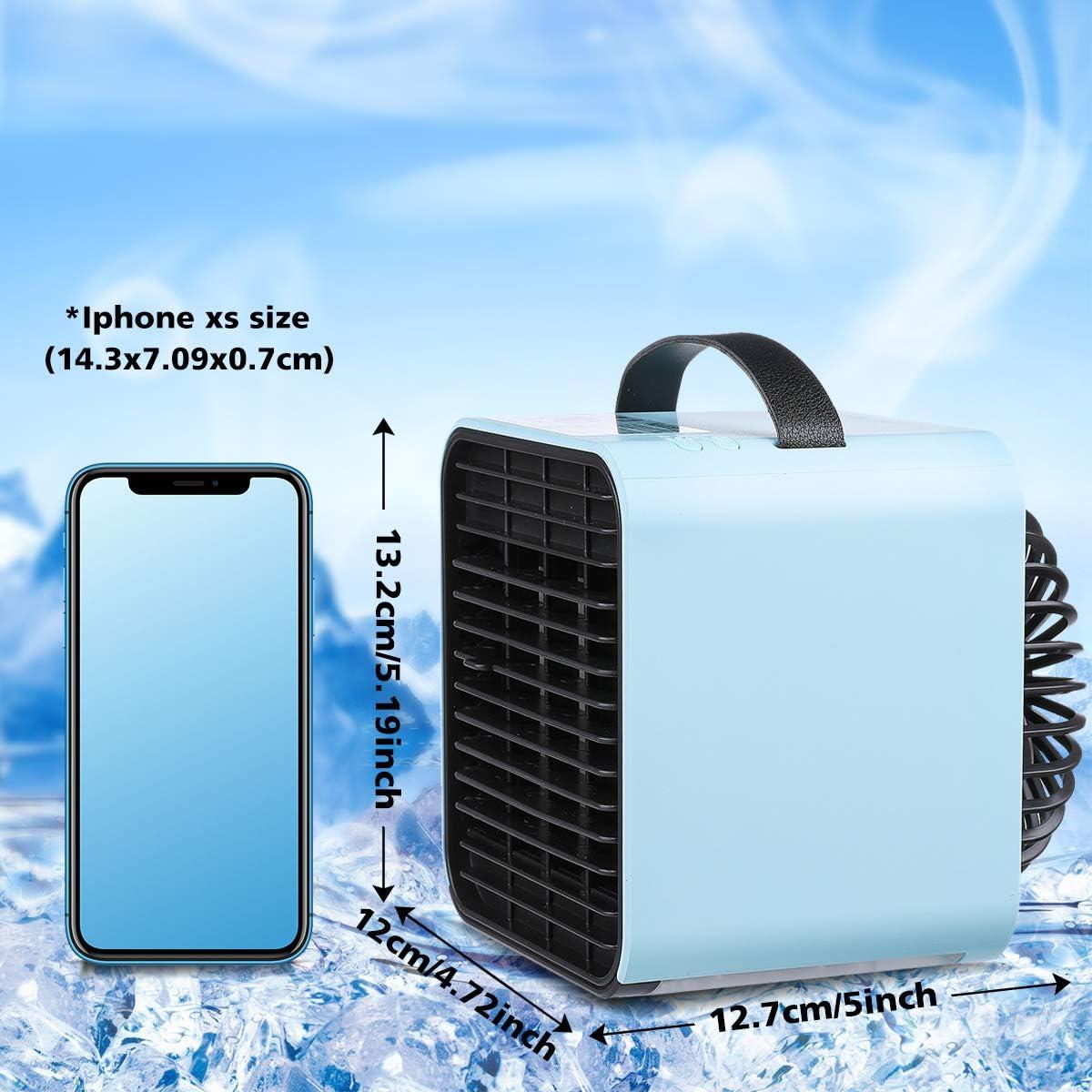 Janolia Aire Acondicionado USB, Mini Air Enfriador Portátil ...