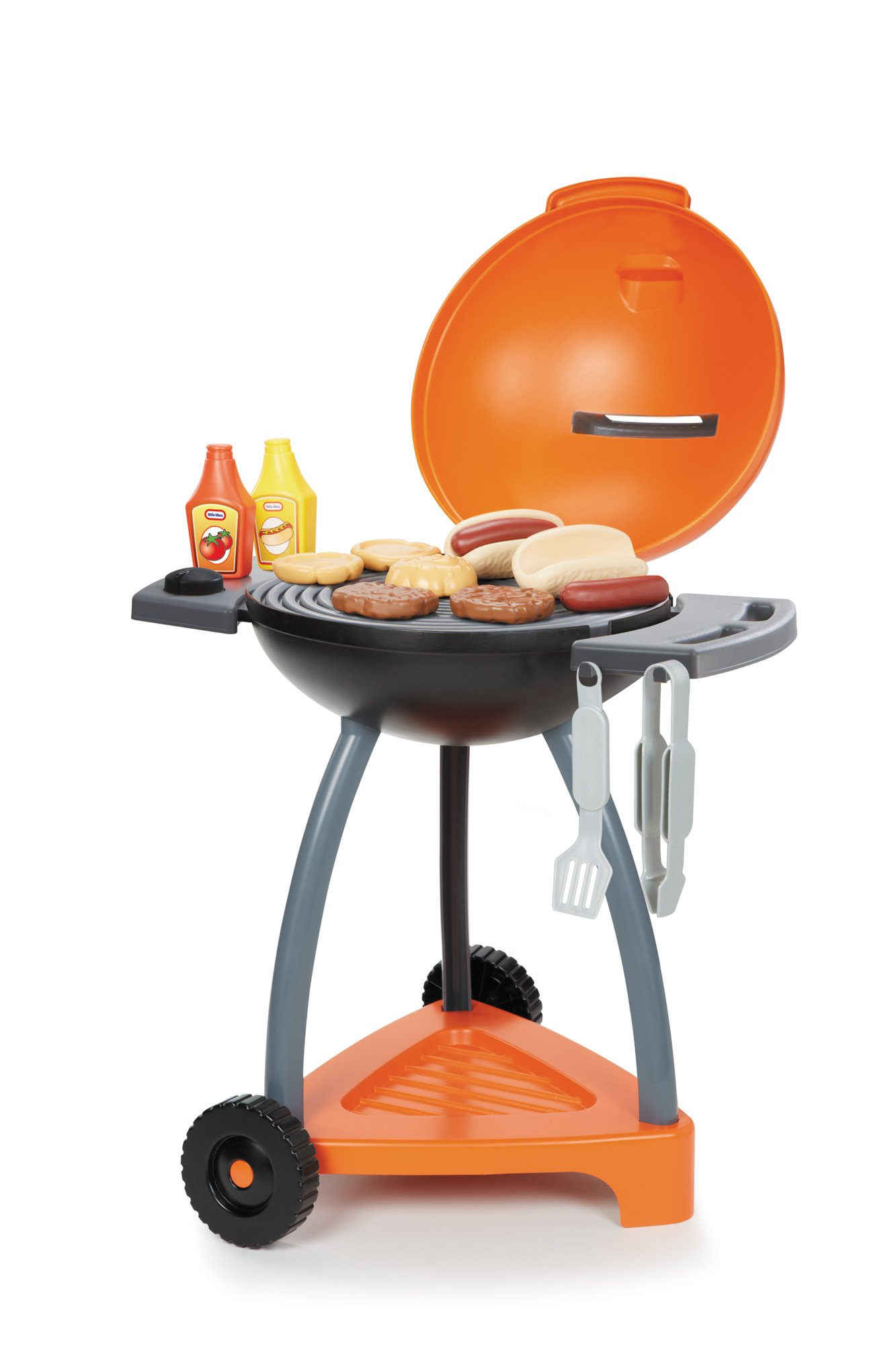 Grill Little Tikes Sizzle Serve And Play Pretend Bbq Toys N Kids Toy ...