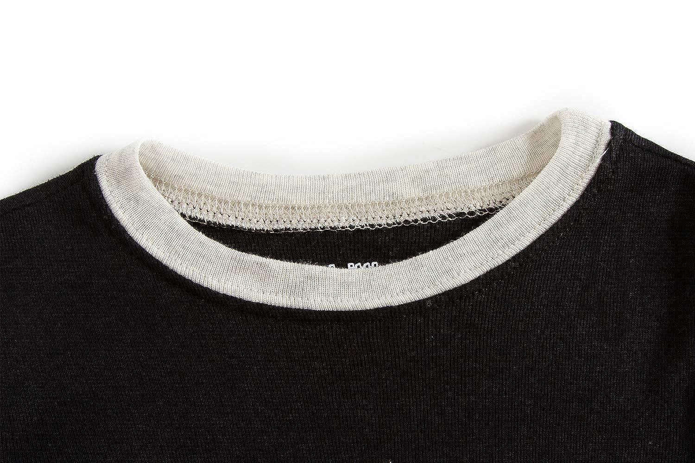 Dolphin/&Fish Boy Pajamas 100/% Cotton Space Long Sleeve Toddler Pjs Sleepwear Kids Clothes