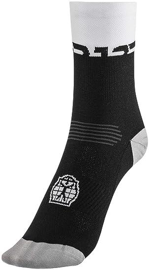 Bioracer Sprinter Summer Socks Black de White 2018 – Calcetines de Ciclismo 63b6a50b48dd4