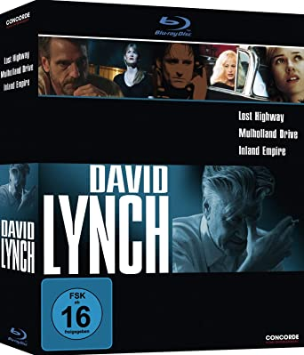 David Lynch Collection Lost Highway Mulholland Drive Inland Empire Blu Ray