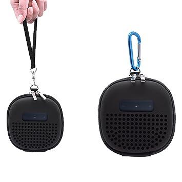 Portátil funda de transporte para auriculares Bose SoundLink Micro altavoz Bluetooth, meneea funda protectora con