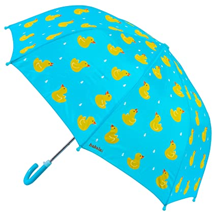b5efc1917d Babalu Adorable Children's Umbrella Playset, Blue/Yellow, 23