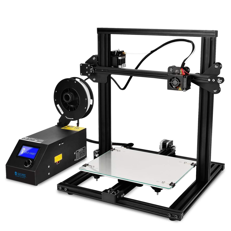 SainSmart x Creality CR-10 3D Printer, 11.8'x11.8'x15.8', Resume Printing, Semi-Assembled