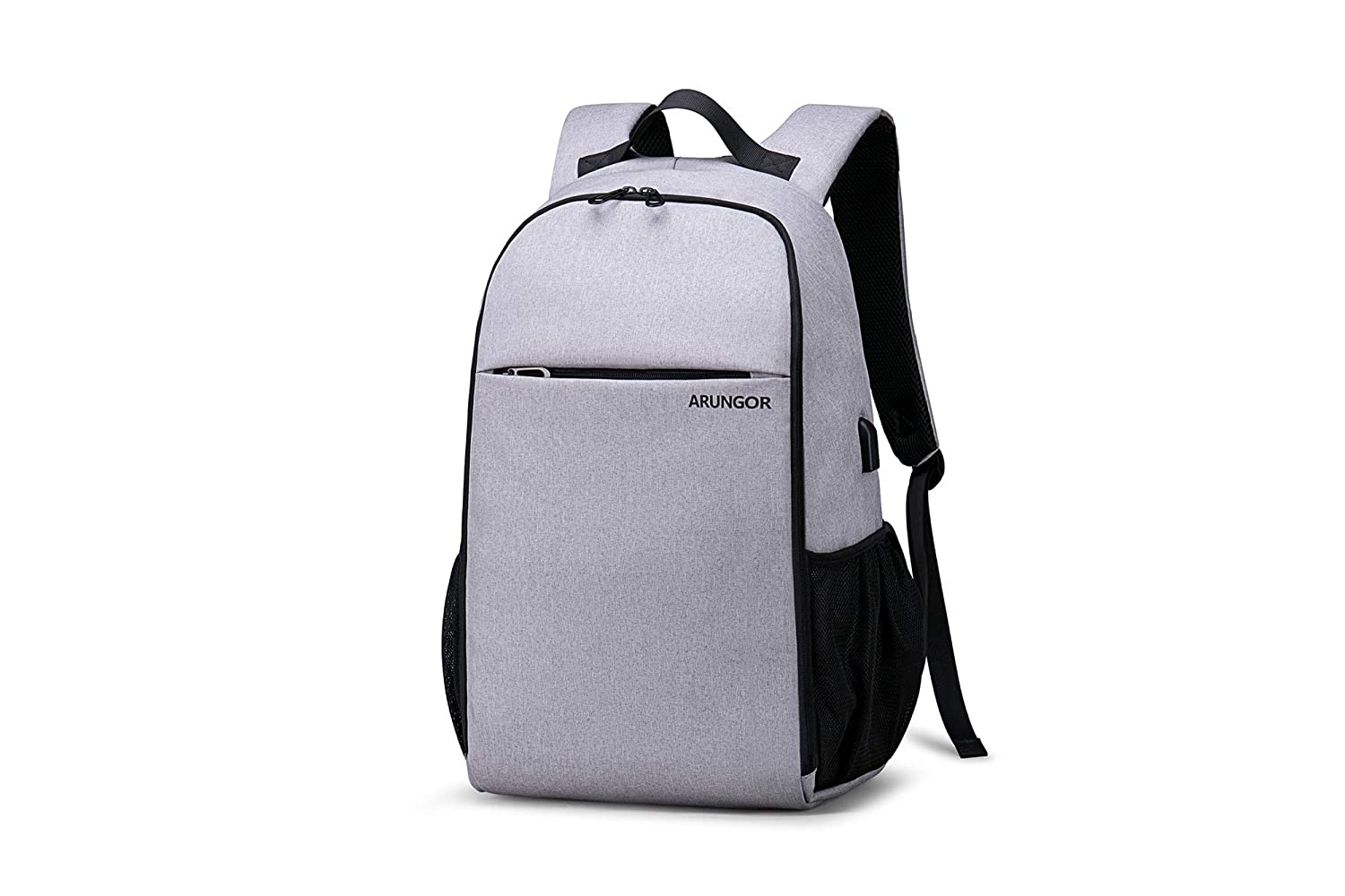932d74ca3 Amazon.com: School Laptop Backpack for Boys & Girls, ARUNGOR College  Bookbag for Men and Women Student (Gray-35): Computers & Accessories