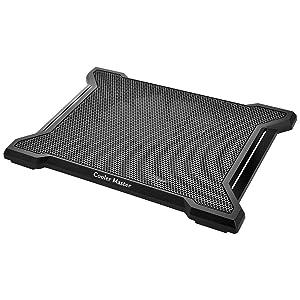 "Cooler Master NotePal X-Slim II Laptop Cooling Pad 'Silent 200mm Fan, Egonomic Design, Supports up to 15.6"" laptops' R9-NBC-XS2K-GP"