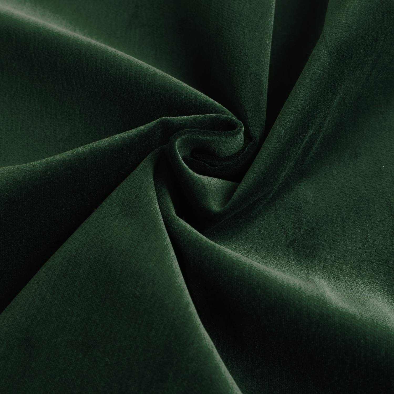 NBK 別珍 ベッチン 綿ビロード 巾90cm×4m切売カット 深緑 EBI9900-30-4M 巾90cm×4m切売カット  B07K6YJHSF
