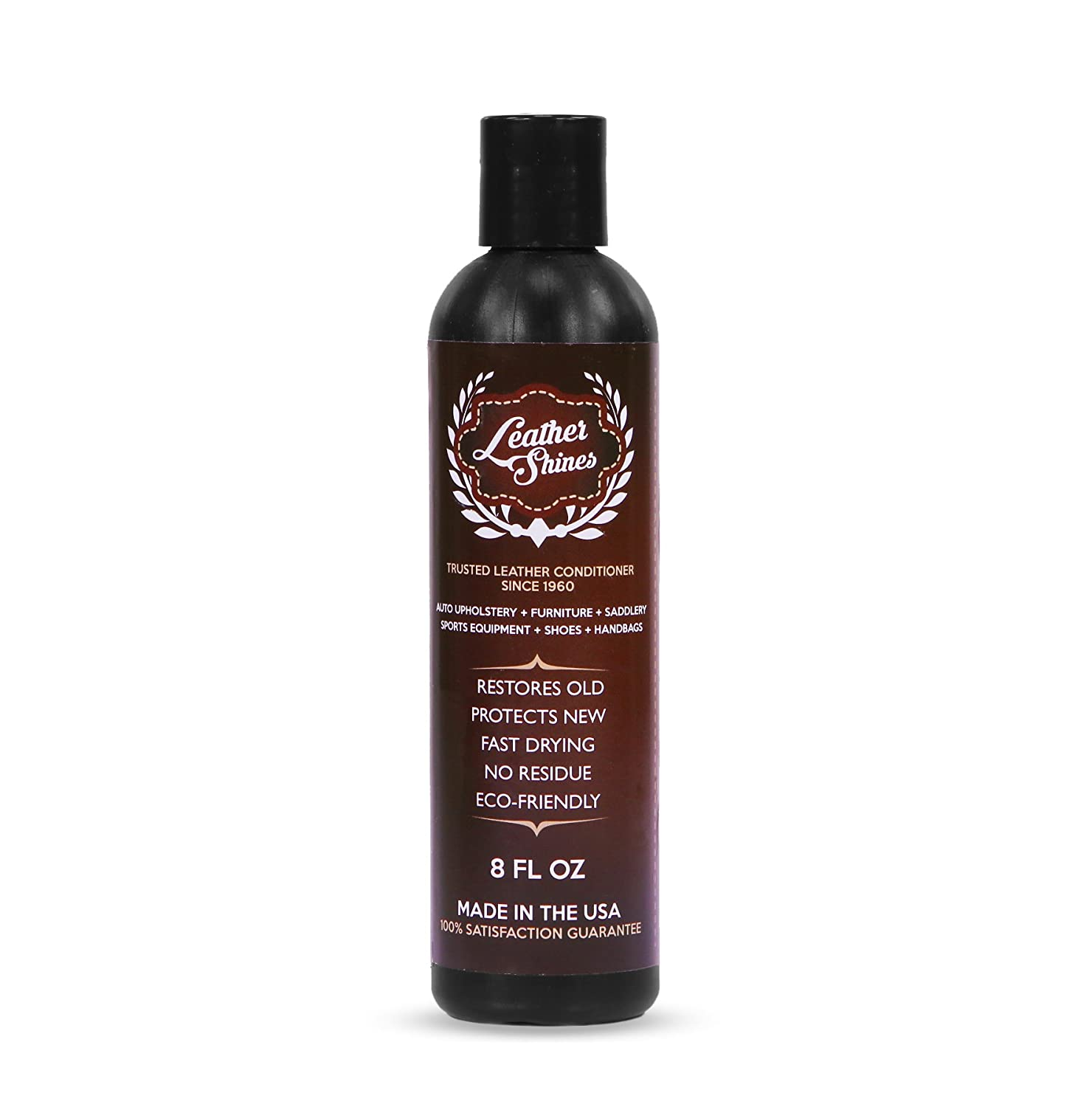 Amazon.com: Leather Shines Leather Conditioner - Leather Restorer ...