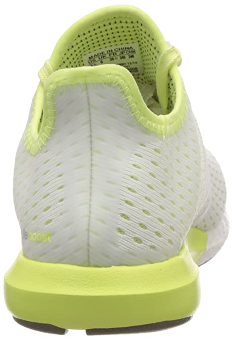 newest 1154a 7a62d adidas Women s s Climachill Gazelle Boost Running Shoes, Weiß FTWR  White Light Flash Yellow S15, 4.5 UK  Amazon.co.uk  Shoes   Bags