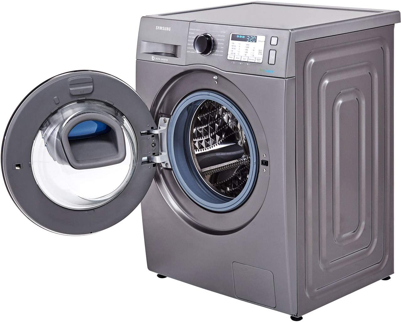 SAMSUNG Ww80k5413ux ecobubble 1400rpm addwash ™ Lavadora de Carga ...