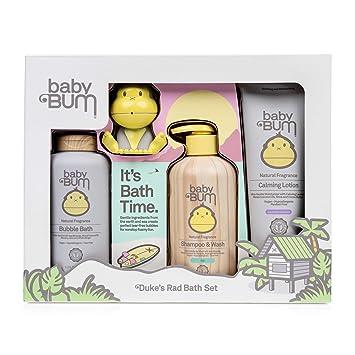Amazon.com: Set de regalo para baño Baby Bum Duke: Baby