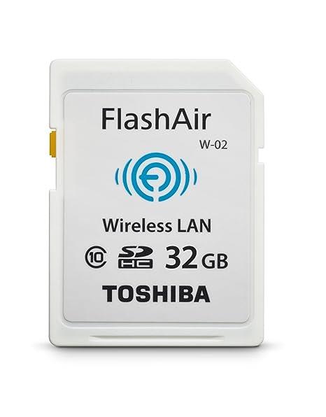Amazon.com: Toshiba Flash Air II Wireless tarjeta de memoria ...