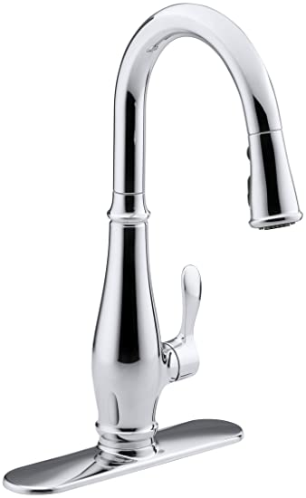 Kohler K 780 Cp Cruette Pull Down Kitchen Faucet Polished Chrome