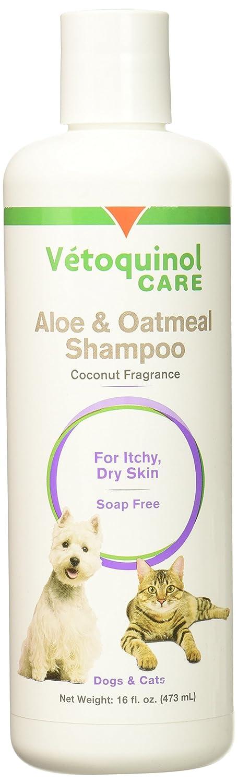 Vet Solutions Aloe and Oatmeal Shampoo, 16-Ounce
