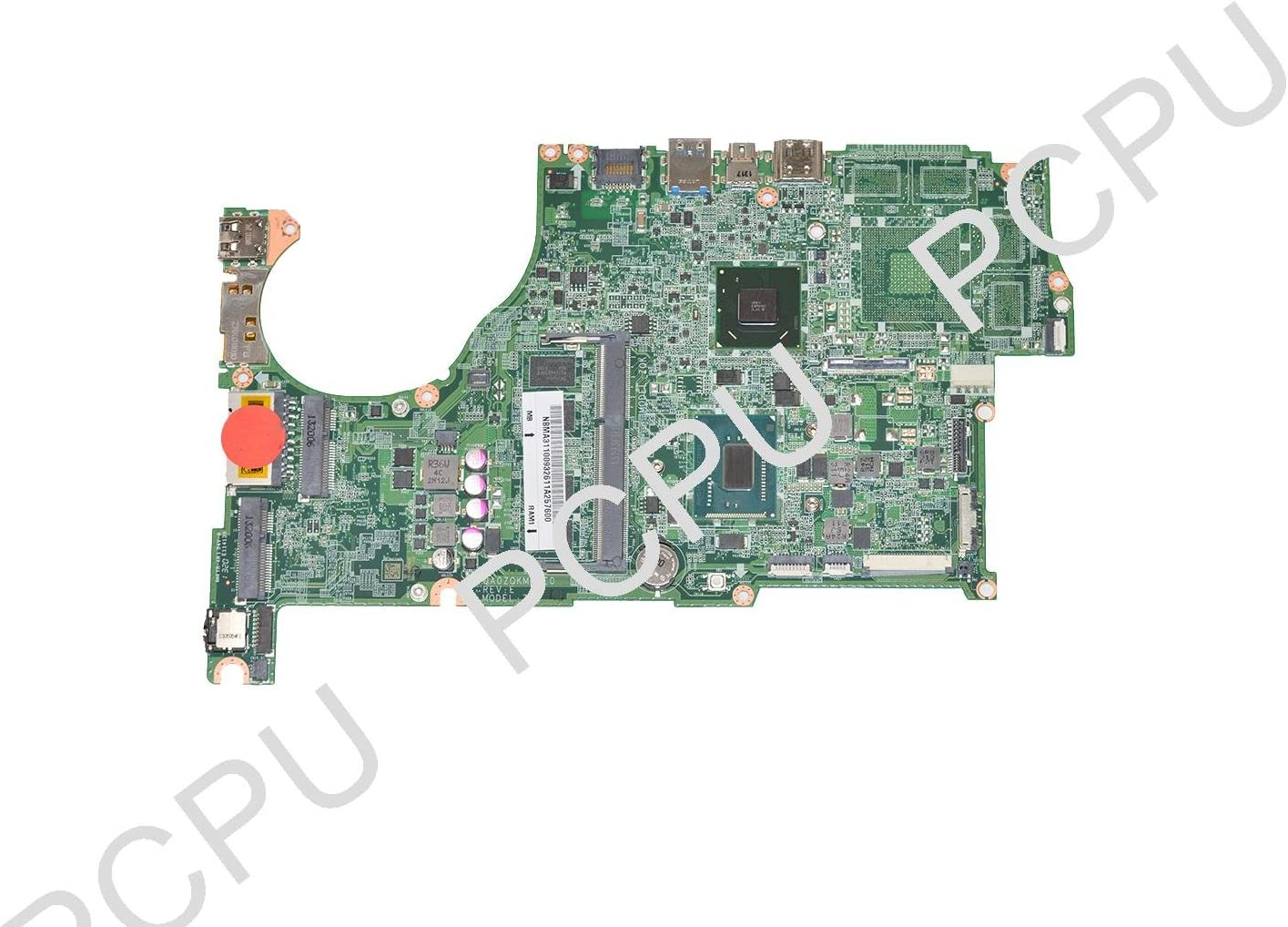 NB.MA311.009 Acer Aspire V5-472 Laptop Motherboard w/ Intel Pentium Dual-Core Mobile 2127U 1.9Ghz CPU