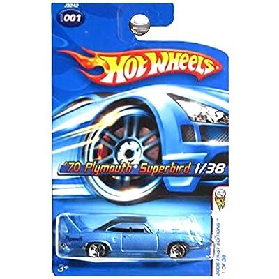 Hot Wheels 2006 First Editions 1970 Plymouth Superbird Super Bird Blue: Toys & Games