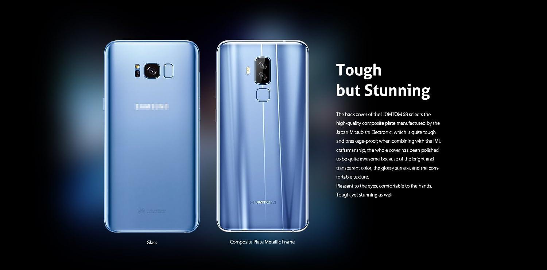 HOMTOM S8 4G Smartphone 5.7 Pulgadas Android 7.0 MTK6750T Octa ...