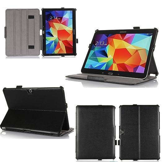 6 opinioni per Nera Custodia Pelle Ultra Slim per Samsung Galaxy Tab 4 10.1 pollici
