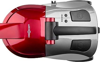 Oneconcept Aquapura Aspirador de Agua (Limpieza en seco o en húmedo, Filtro HEPA, Tanque 3L, 1200W Potencia aspiradora, múltiples Accesorios, Cable 5m) - Rojo: Amazon.es: Hogar