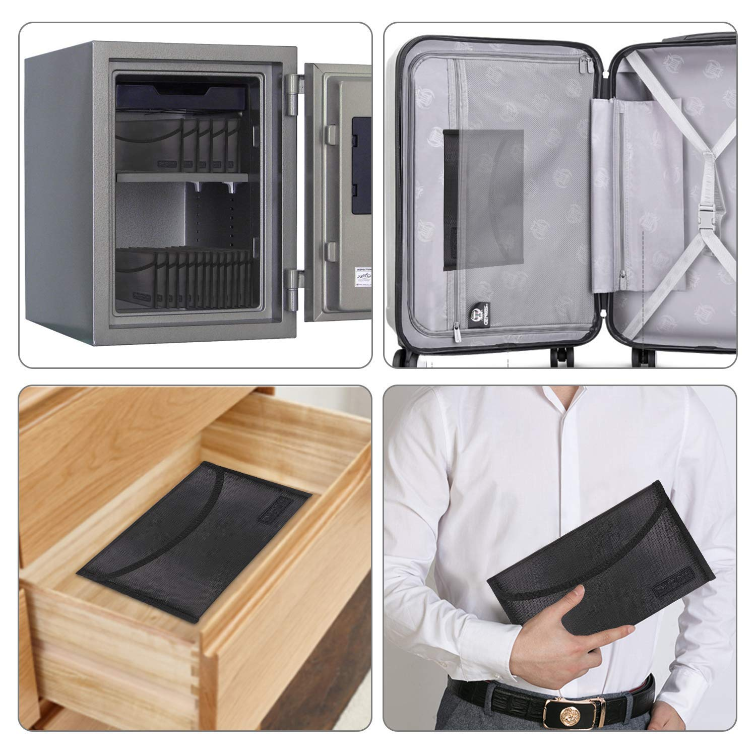 Fireproof Safe Bag for File Holder 10.2\