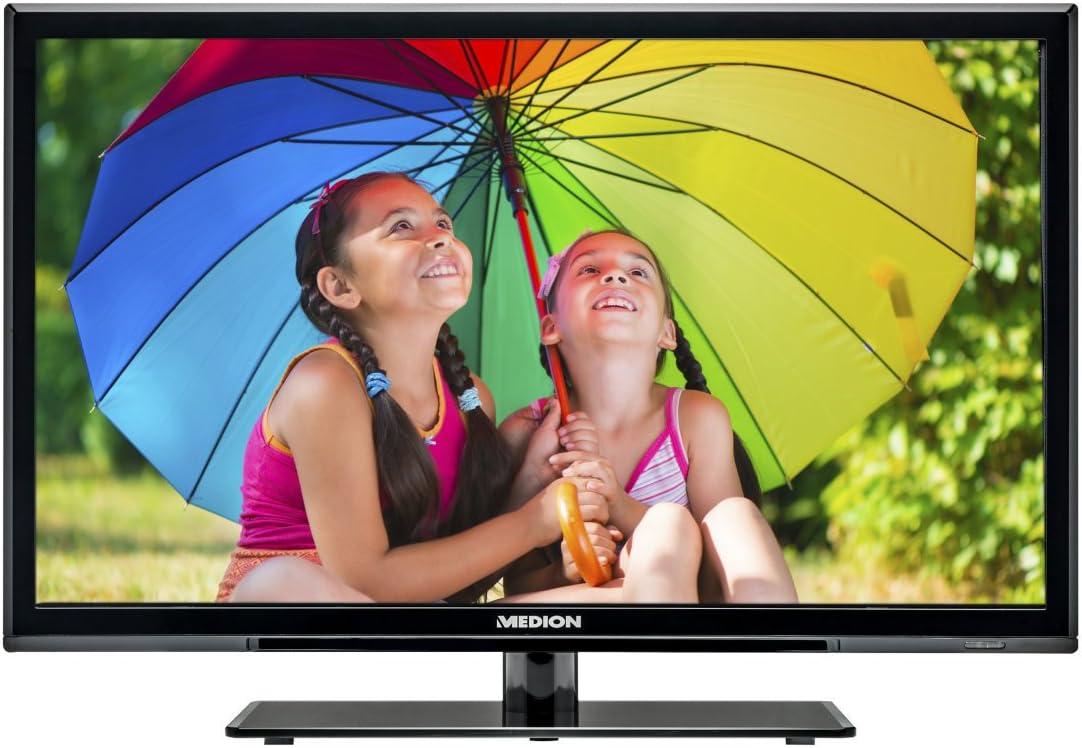 Medion Life E12009 Md 21259 54 6 Cm 21 5 Zoll Fernseher Hd Ready Dvb T Tuner Dvd Player Heimkino Tv Video