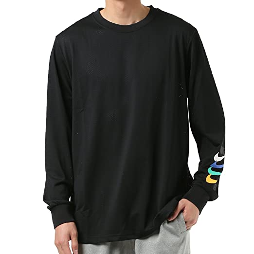 6705cecc8 Amazon.com: Nike SB Dri-FIT Long Sleeve Top (Large, Black/Black ...