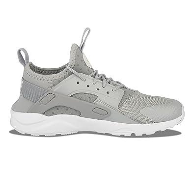 277e2703bb2b Nike Boys 859593-016 Kids Huarache Run Ultra Ps Wolf Grey 859593-016 Size