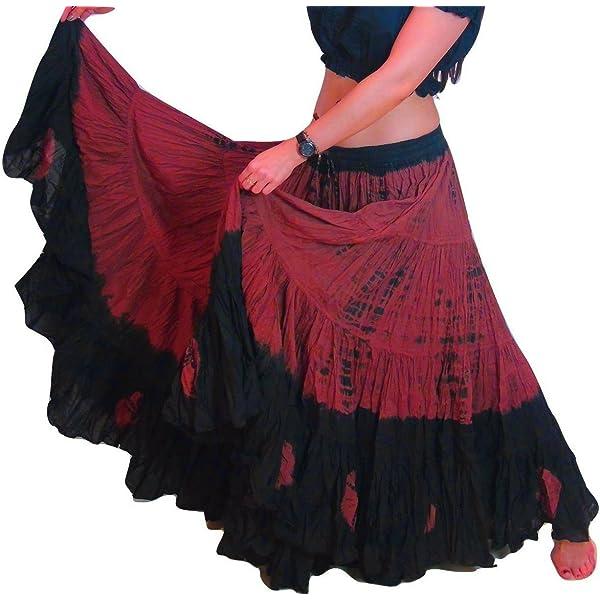 Falda de Dancers World Ltd, de algodón, para danza del vientre ...