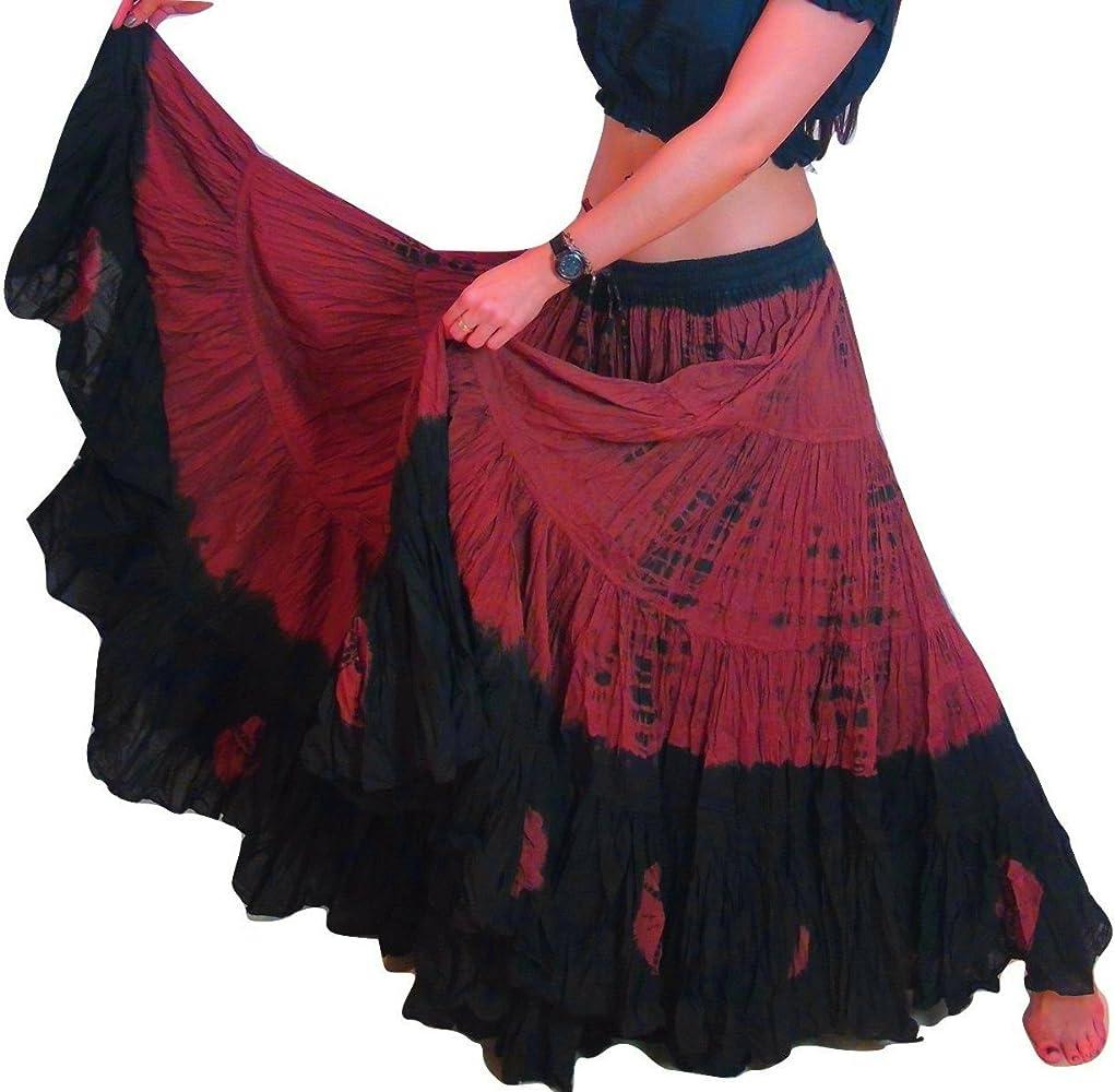 25 Yard Yards Tribal Gypsy algodón vientre danza de la danza de la ...