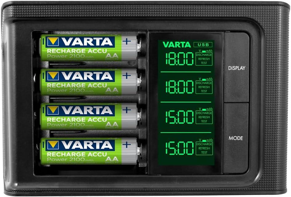 Varta Smart Charger Ladegerät Für Akkus In Aa Elektronik