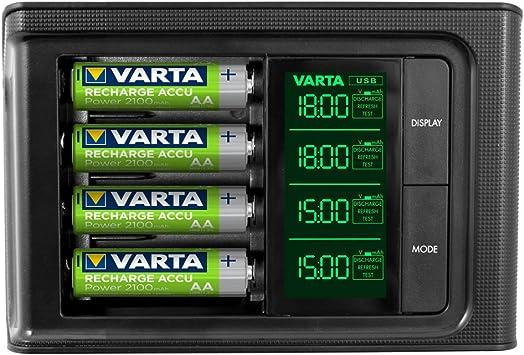 Varta Chargeur de piles AAAAA à écran LCD