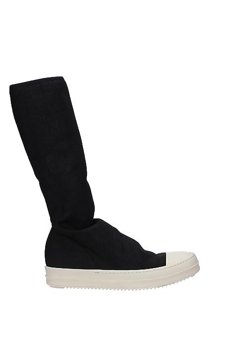 ed269b8cff RICK OWENS Sneakers DRKSHDW Donna - Tessuto (F2808SBWPBLACKMILK) 39 ...