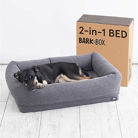 BarkBox Memory Foam Dog Cuddler Bed